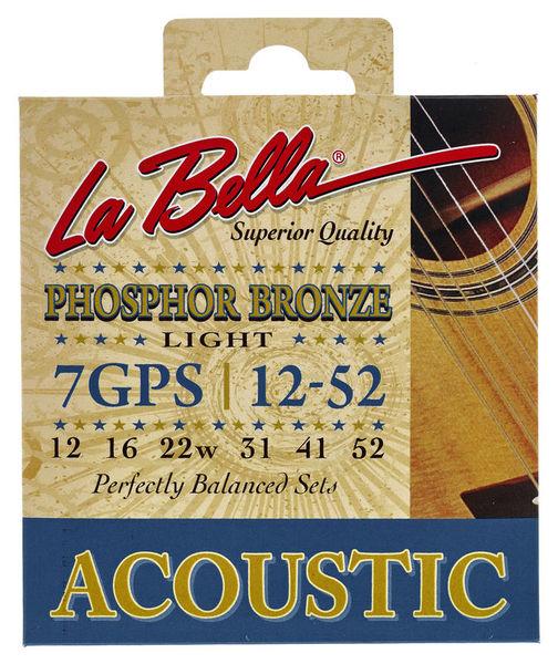 La Bella 7GPS Phosphor Bronze L