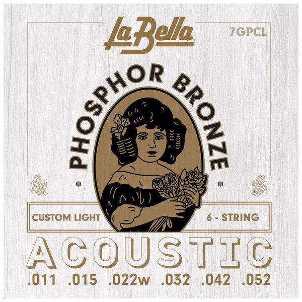 La Bella 7GPCL Phosphor Bronze CL