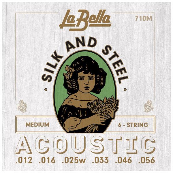 La Bella 710M Silk & Steel M