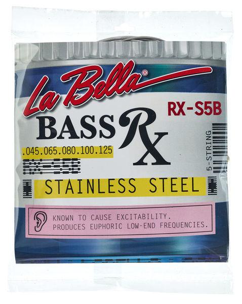 La Bella RX-S5B Bass RWSS