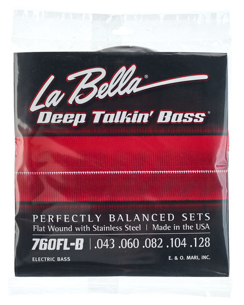 La Bella 760FL-B DT'Bass Flats