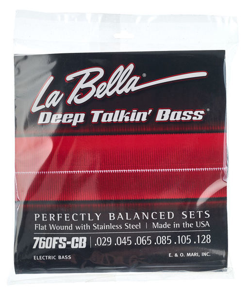 La Bella 760FS-CB Deep Talkin' Bass