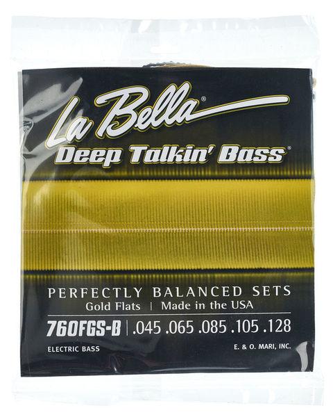 La Bella 760FGS-B DT'Bass Gold Flats