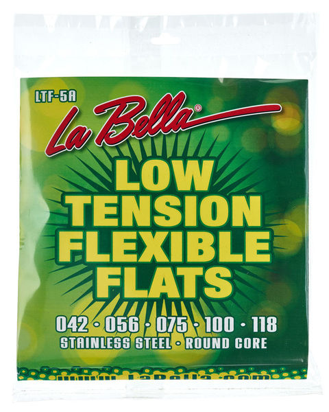 La Bella LTF-5A Bass Flexible Flats LT