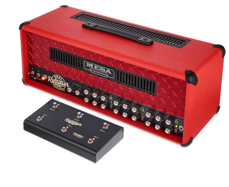 Mesa Boogie Dual Rectifier Custom Red