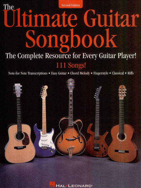 Hal Leonard The Ultimate Guitar Songbook