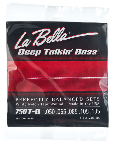 La Bella 750T-B White Nylon L