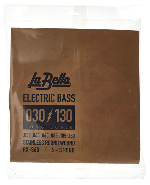 La Bella RX-S6D Bass RWSS