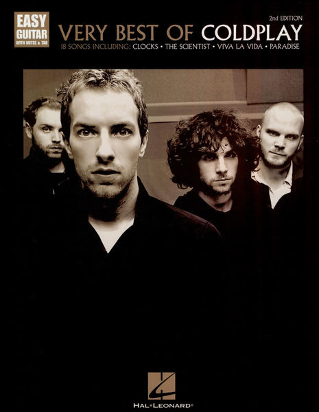 Hal Leonard Very Best Of Coldplay