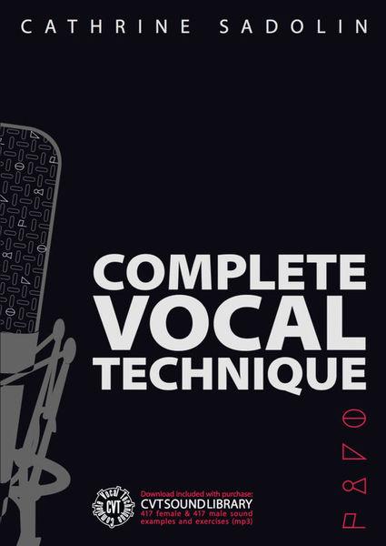 Shout Publications Complete Vocal Technique