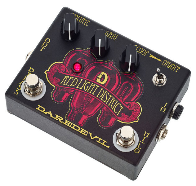 Daredevil Pedals Red Light District Distortion
