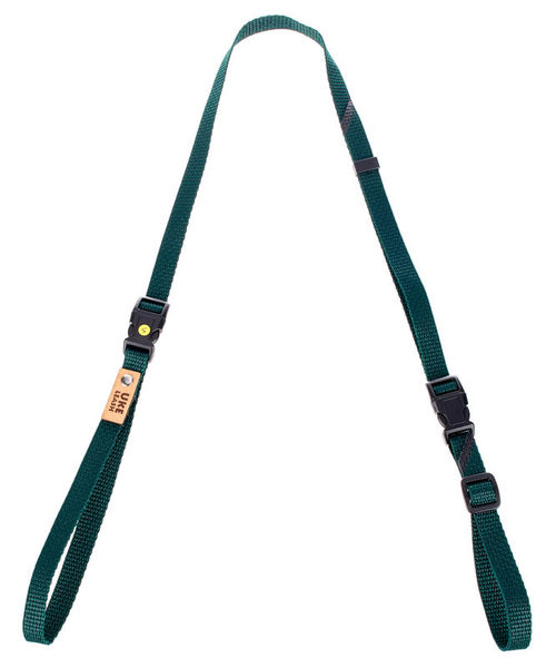 Uke Leash Half Strap Green Small