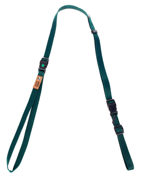 Uke Leash Half Strap Green Medium