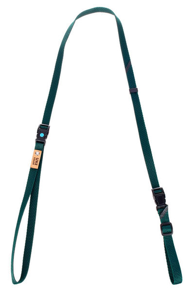 Uke Leash Half Strap Green Large