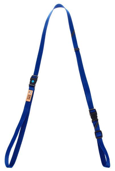 Uke Leash Half Strap Royal Blue Large