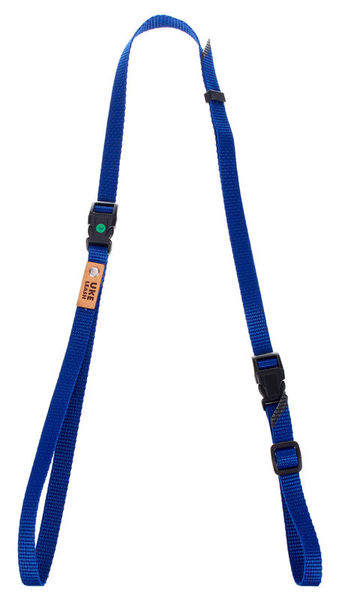 Uke Leash Half Strap Royal Blue Medium