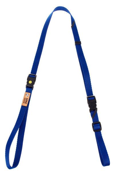 Uke Leash Half Strap Royal Blue Small