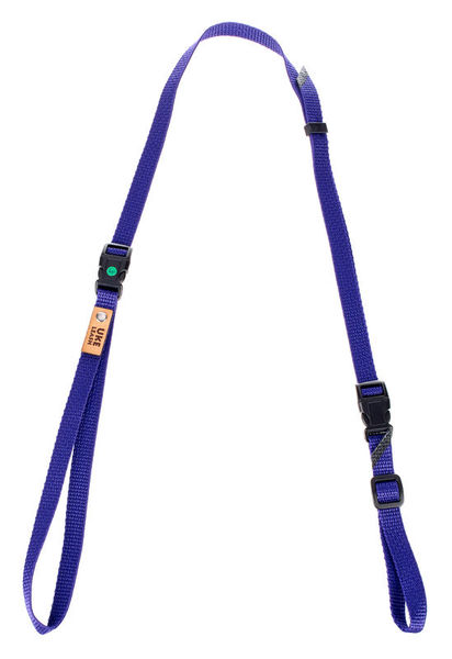 Uke Leash Half Strap Purple Medium
