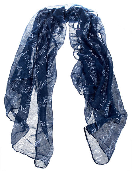 Musikboutique Hahn Scarf Sheet Music Blue