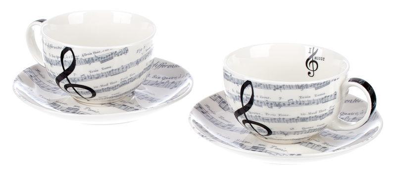 Musikboutique Hahn Cappuccino Mug Set