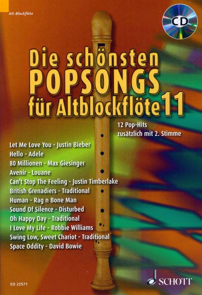 Schott Schönste Popsongs Vol.11 Alt