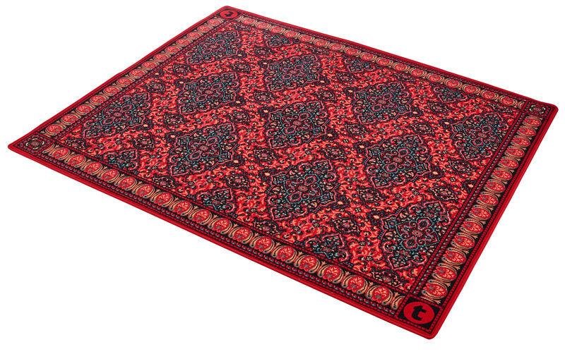 Drum Rug Oriental Red Thomann