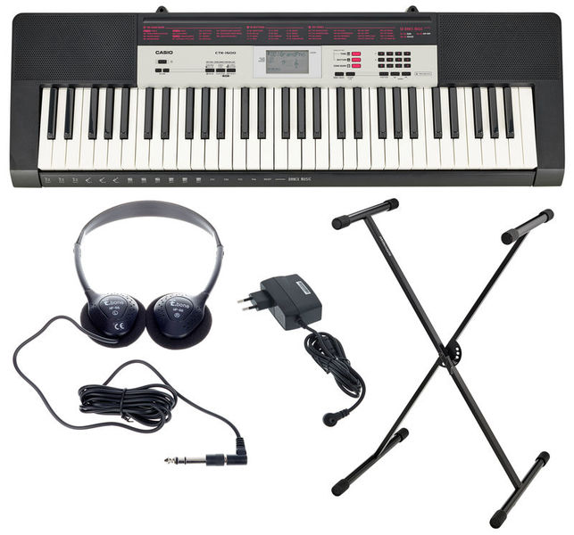 Casio CTK-1500 Set