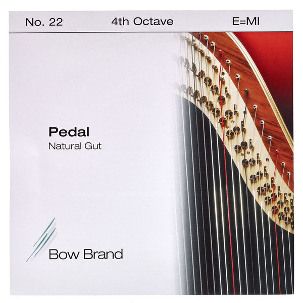 Bow Brand Pedal Natural Gut 4th E No.22