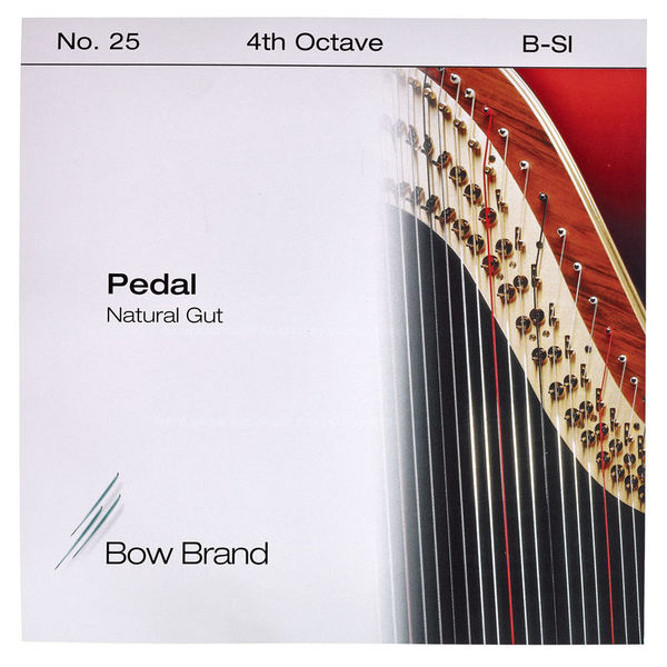 Bow Brand Pedal Natural Gut 4th B No.25