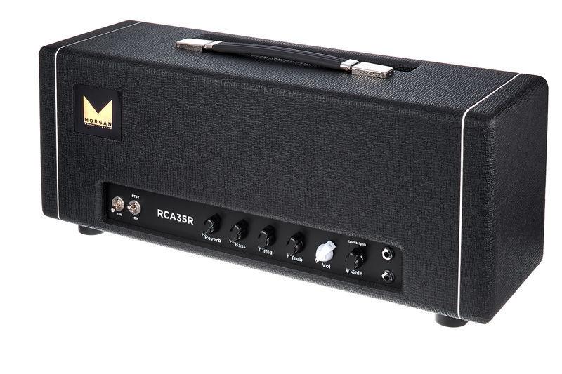 Morgan Amplification RCA35R Head Black