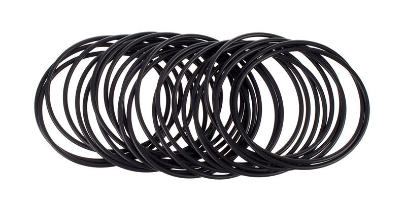 Stairville Rubber Ring for Snap 25 pcs