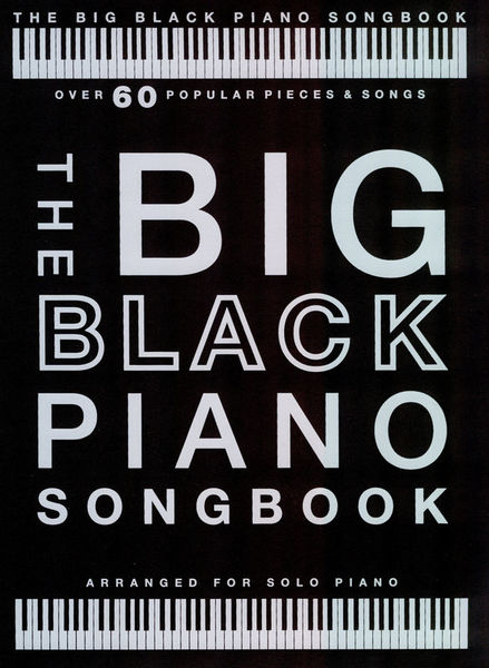 Wise Publications The Big Black Piano Songbook