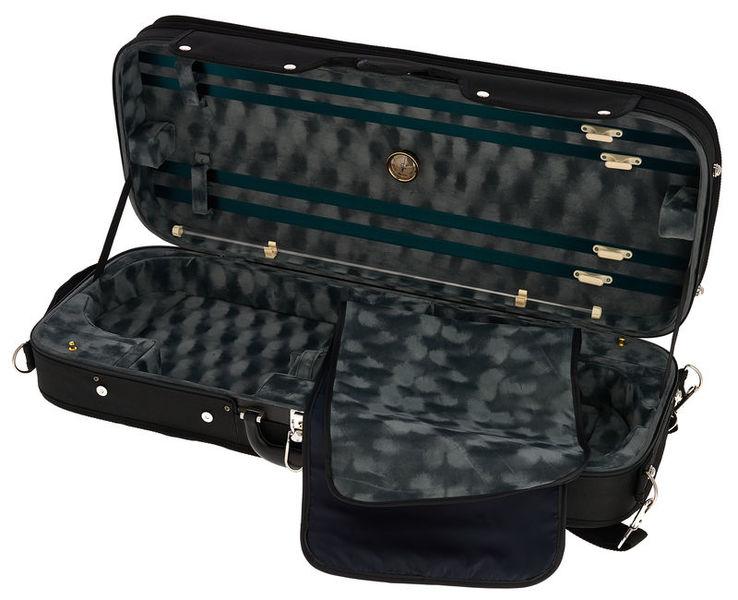 RJVC Double Violin Case BK 4/4 Roth & Junius