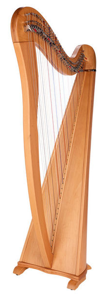 Thomann Roundback Harp Beechwood 38