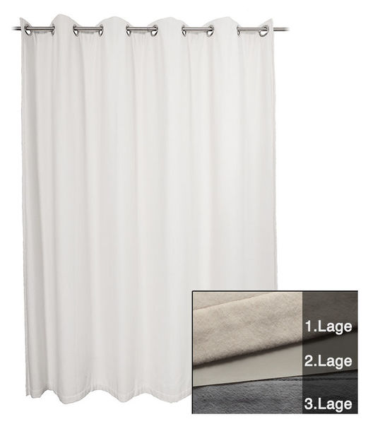 Hofa Acoustic Curtain Iso white