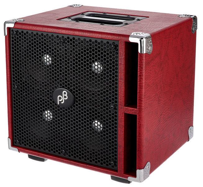 Phil Jones Piranha C4 Bass Cabinet Red