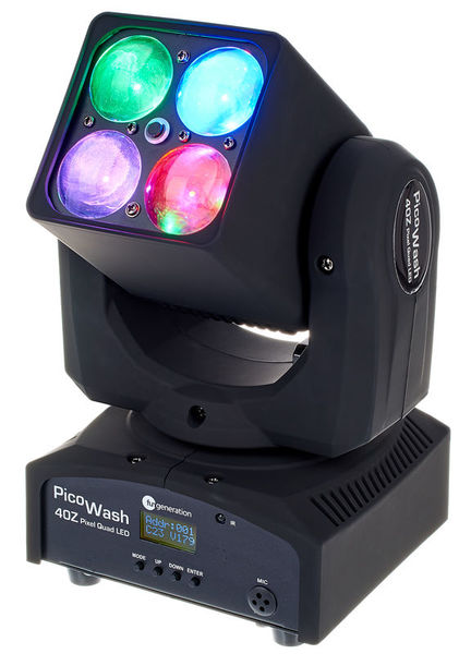 PicoWash 40Z Pixel Quad LED Fun Generation