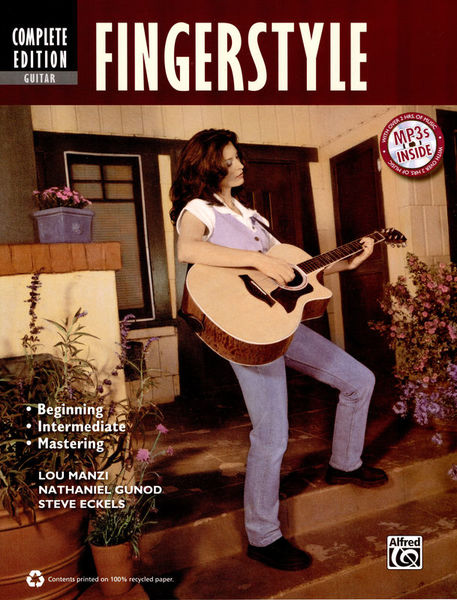 Fingerstyle Guitar Methode Alfred Music Publishing