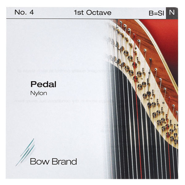 Bow Brand Pedal Artist Nylon 1st B No.4