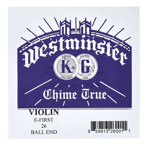 Westminster E Violin 4/4 BE medium 0,26