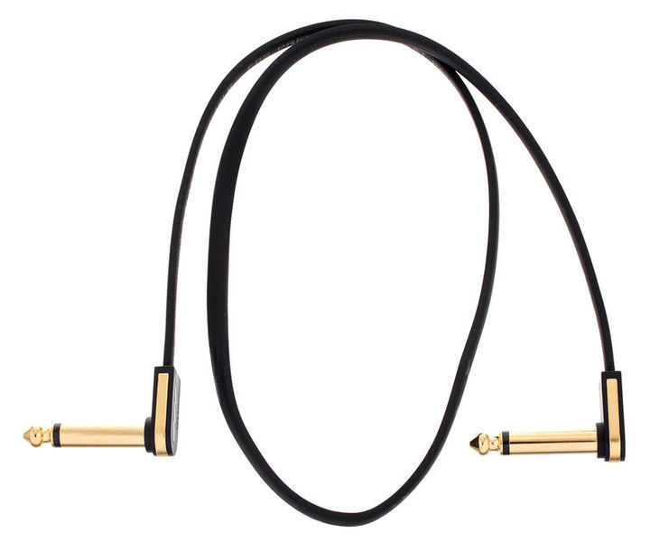PG-58 Flat Patch Cable Gold EBS