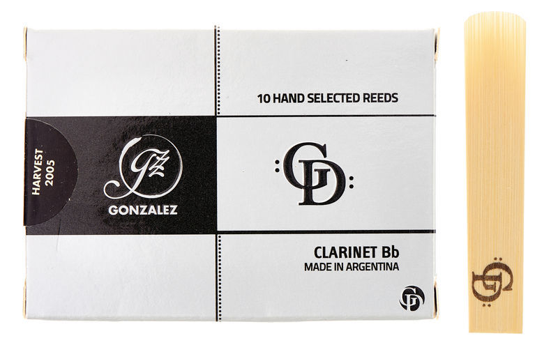 Bb Clarinet Reed GD 3,25 Gonzalez