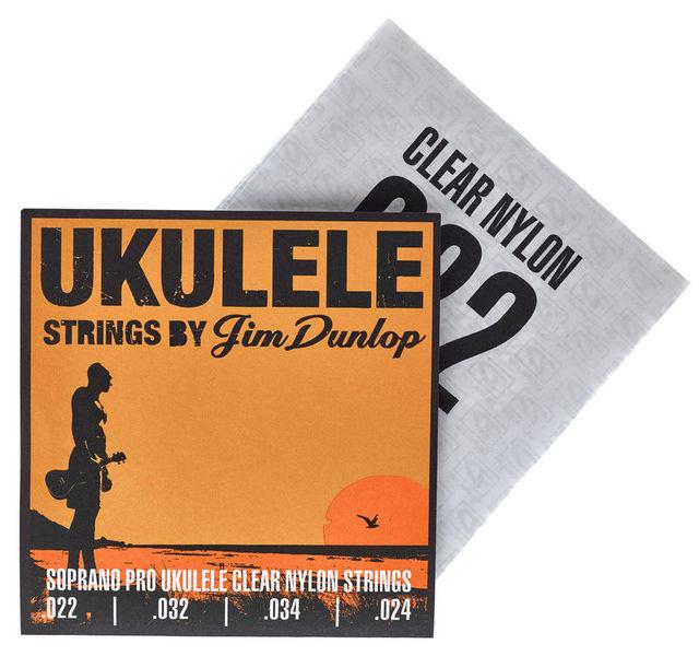 Dunlop Ukulele Clear Nylon Sopran 301