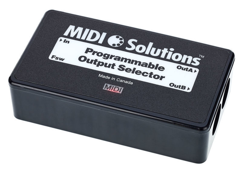 MIDI Solutions Programmable Output Selector