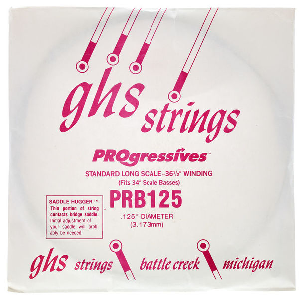 GHS Progressives Bass PRB .125