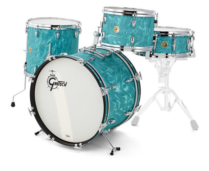 Gretsch US Custom Aqua Flame Limited