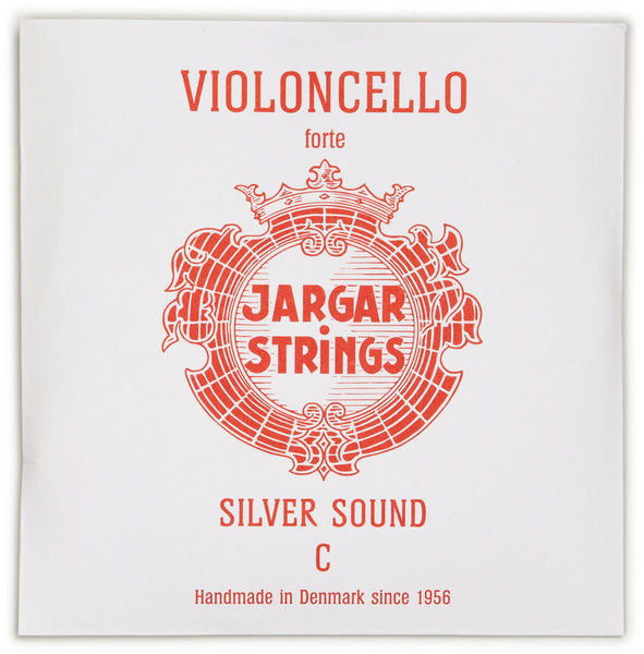 Jargar Silver Cello String C Forte