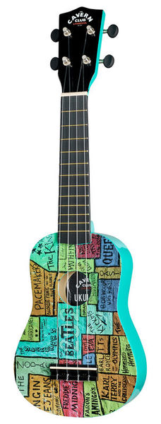 Cavern Club The Wall Ukulele CVUK1