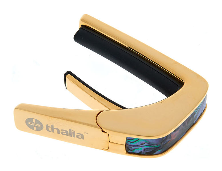 Thalia Capo Blue Abalone 24k Gold finish