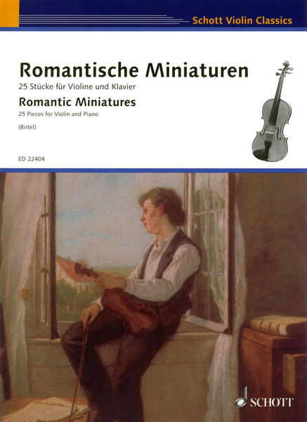 Schott Romantic Miniatures Violin
